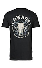Cowboy Hardware Men's Yesterday Today Forever Skull Short Sleeve Tee
