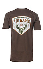 Big Game Men's Brown Short Sleeve T-Shirt