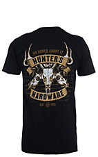 Hunters Hardware Men's Black No Bones About It Short Sleeve T-Shirt