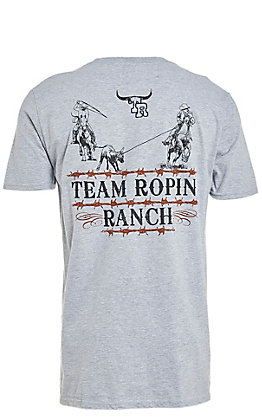 Cowboy Hardware Men's Team Roping Ranch T-Shirt