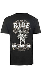 Cowboy Hardware Men's Ride For Your Life Short Sleeve Tee