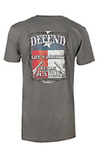 Cowboy Hardware Men's Charcoal Texas Original Short Sleeve T-Shirt