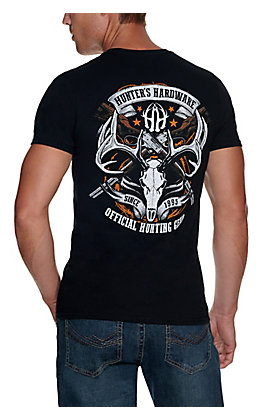 Hunter's Hardware Men's Black Official Gear Short Sleeve T-Shirt