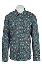Cinch L/S Mens Fine Weave Modern Fit Shirt 1311008