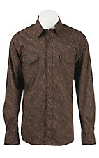 Cinch L/S Mens Fine Weave Modern Fit Shirt 1312007
