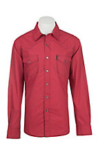 Cinch Men's Red Print Modern Fit Western Shirt
