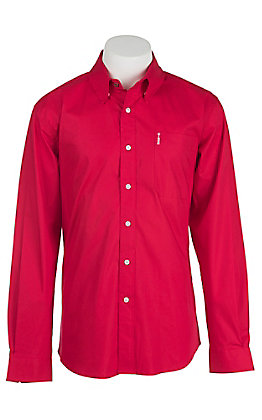 Cinch L/S Mens Fine Weave Modern Fit Shirt 1343012