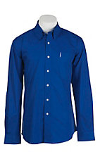 Cinch L/S Mens Fine Weave Modern Fit Shirt 1343013