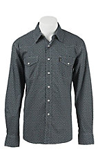 Cinch L/S Mens Fine Weave Modern Fit Shirt 1344001