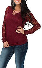 Jody Women's Ruby Lace Fashion Shirt
