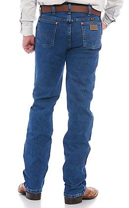 """Wrangler Men's Cowboy Cut Original Fit Active Flex Jeans - 38"""" Length"""