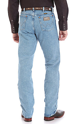 Wrangler Men's Antique Wash Cowboy Cut Original Fit Jeans