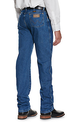 Wrangler Men's Stonewash Cowboy Cut Original Fit Jeans