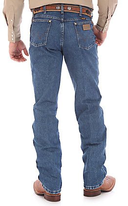 Wrangler Cowboy Cut Stonewash Original Fit Tall Jeans