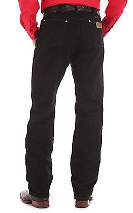 Wrangler Cowboy Cut Black Original Fit Big Jeans