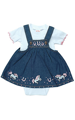df40d4419e689 Western Wear for Infant Girls | Free Shipping $50+ | Cavender's
