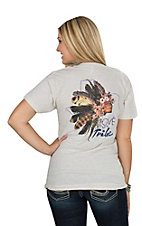 American Apparel Women's Oatmeal Love My Tribe T-Shirt