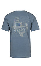 C.C. Creations Men's Blue Jean Hard to Be Humble Graphic S/S T-Shirt