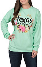 Women's Long Sleeve Texas In Her Soul T-Shirt