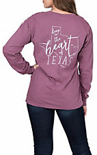 Women's Long Sleeve Deep in The Heart of Texas T-Shirt