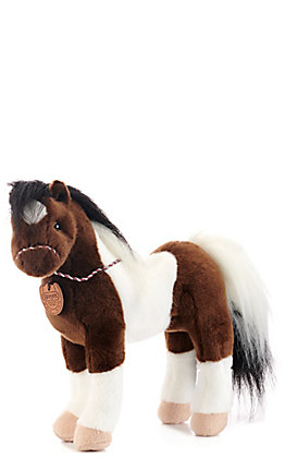 "Aurora Breyer 13"" Paint Horse Stuffed Animal"