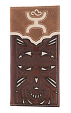 Hooey Men's Bone Cut Out Rodeo Wallet