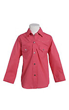 Ely & Walker Cumberland Outfitters Toddler Girls Fuchsia Rhinestone Horse Western Shirt