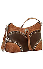 American West Chestnut Ridge Zip Top Shoulder Bag