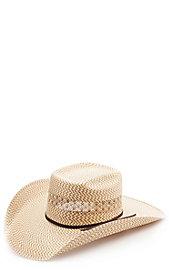 03bfddb0b0966 Cavender s 3 Tone Zig-Zag Poly Vent Straw Cowboy Hat