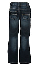 Cinch Boys' Carter II Dark Sand Wash Regular Fit Jean--Sizes 4-7