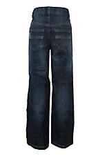 Cinch Boy's Carter Dark Slim Fit Relaxed Boot Cut Jeans
