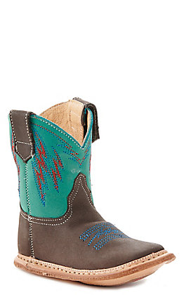 Roper Infant Turquoise Round Toe Boot