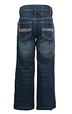 Cinch Boys' Tanner Dark Wash Boot Cut Jeans