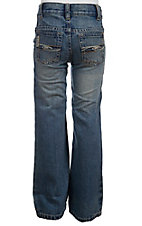 Cinch Boys' Tanner Medium Stonewash Regular Fit Jean--Sizes 8-16 MB16982001