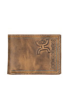 HOOey Brown Signature Aztec Bifold Wallet