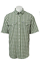 Cinch S/S Mens Arena Flex Plaid Shirt 1708001