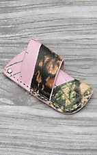 Nocona Mossy Oak Pink Camo Side Draw Knife Sheath