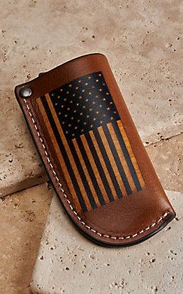 Nocona USA Flag Knife Sheath