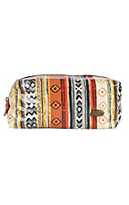 Justin Large Aztec Cosmetic Bag