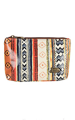 Justin Small Aztec Cosmetic Bag