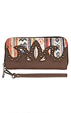 Justin Women's Aztec Zip Wallet