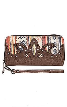 Justin Women's Aztec Zip Wallet
