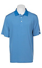 Cinch Men's Blue Striped ArenaFlex Short Sleeve Shirt