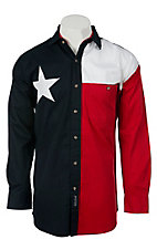 Rock Point L/S Texas Flag Shirt 1836IND