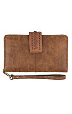 Catchfly Women's Thunderbird Saddle Brown Wallet