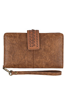 Catchfly Women's Thunderbird Saddle Brown Wallet