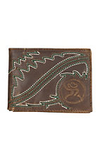 HOOey Men's Roughy Rodeo Boot Stitch Wallet