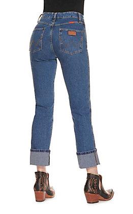Wrangler Natural Rise Stonewash Jean