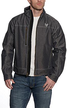 Cowboy Hardware Men's Heather Black Bonded Jacket