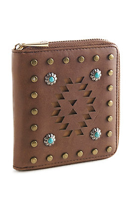 Catchfly Women's Belle Small Lasercut Wallet